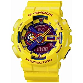 CASIO (カシオ) 腕時計 G-SHOCK Hyper Colors GA-110A-9JF メンズ
