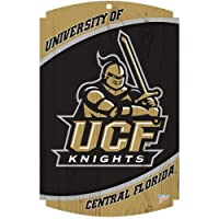 "WinCraft Central Florida Golden Knights Wood Sign 11"" x 17"""