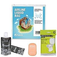Hava:航空会社規定サイズトラベルリキッドバッグ(プレミアムパック)