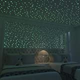 Glow in The Dark Stars- is Kids Bedroom Decor.Glow in The Dark Stars for Ceiling.524pcs Dots Ceiling Stars,Wall Stickers for