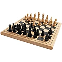 1.Hamleys Wooden Chess Set by INTEX SYNDICATE LIMITED [並行輸入品]