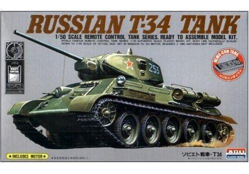 1/50 リモコンタンク No.5 Tー34