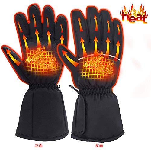 Rabbitroom電熱手袋 電熱グローブ 加熱手袋 加熱グ...