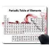 マウスパッド、元素周期表マウスパッド、教師用化学チャート、学生用、厚手ラバー大型マウスパッド