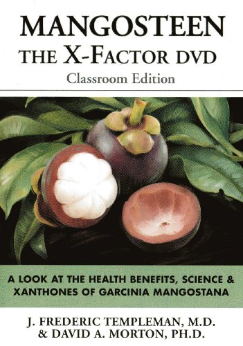 Mangosteen: The X-Factor: A Look at the Health Benefits, Science & Xanthones of Garcinia Mangostana