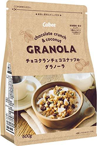 チョコクランチとココナッツのグラノーラ 600g 6袋