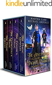 The Adventures of Maggie Parker Complete Box Set: The Magic Compass, The Gnome's Magic, The Elemental's Magic, The Magic Quest (English Edition)