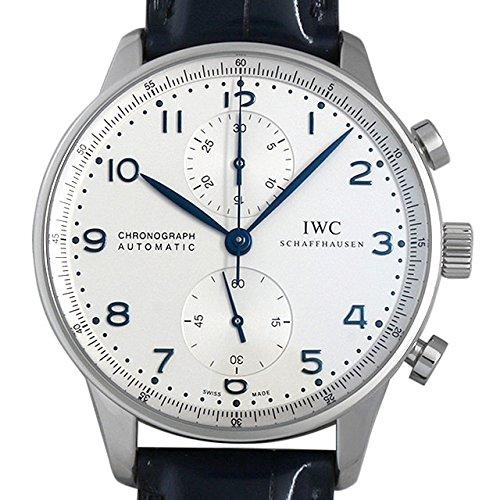IWC ポルトギーゼ クロノグラフ IW371446 ベルト艶...