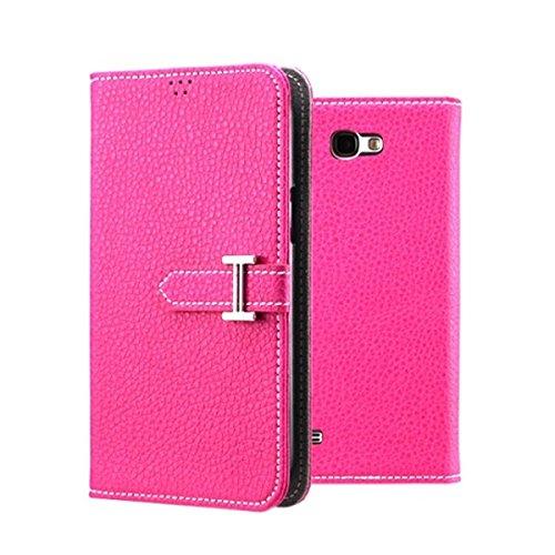 Galaxy S4 ケース P2J Classic Honourable Flip Case ギャラクシー S4 手帳型 フリップ ケース ピンク(Pink) / 携帯 スマホ スマートフォン モバイル ケース カバー ダイアリー 手帳 ケース カード 収納 ポケット スロット スタンド