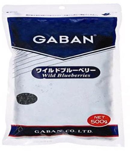 ギャバン ワイルドブルーベリー 500g