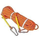 Best クライミングロープ - 高強度ロープ ザイル 太さ 8mm 長さ 10m 20m 30m Review
