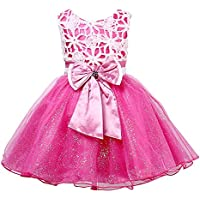 Zoe's wardrobe Baby Girls' Summer Sundress Princess Party Dance Tutu Dress