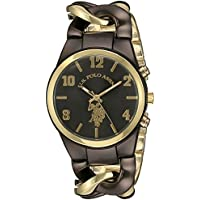 U.S. Polo Assn. Women's USC40177 Analog Display Analog Quartz Two Tone Watch