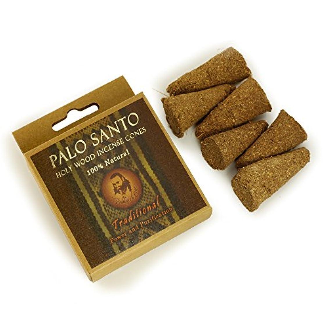 谷佐賀自治Palo Santo Traditional – 電源& Purification – 6 Incense Cones