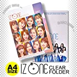 IZ*ONE (アイズワン) IZONE PRODUCE 48 クリア フォルダー/ファイル (Clear Folder/File) [A4 SIZE] グッズ
