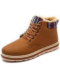 [17Mile] スノーシューズ 防寒靴 スノーブーツ 軽量 綿靴 雪靴 防水 防寒 防滑 スリッポンブーツ ウィンターブーツ 滑り止め 冬用 保暖 裏起毛 アウトドアシューズ