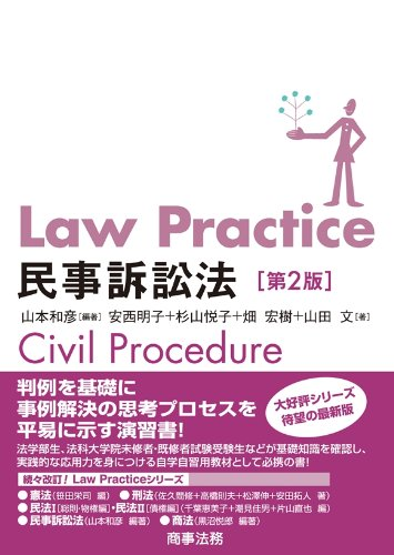 Law Practice 民事訴訟法〔第2版〕の詳細を見る