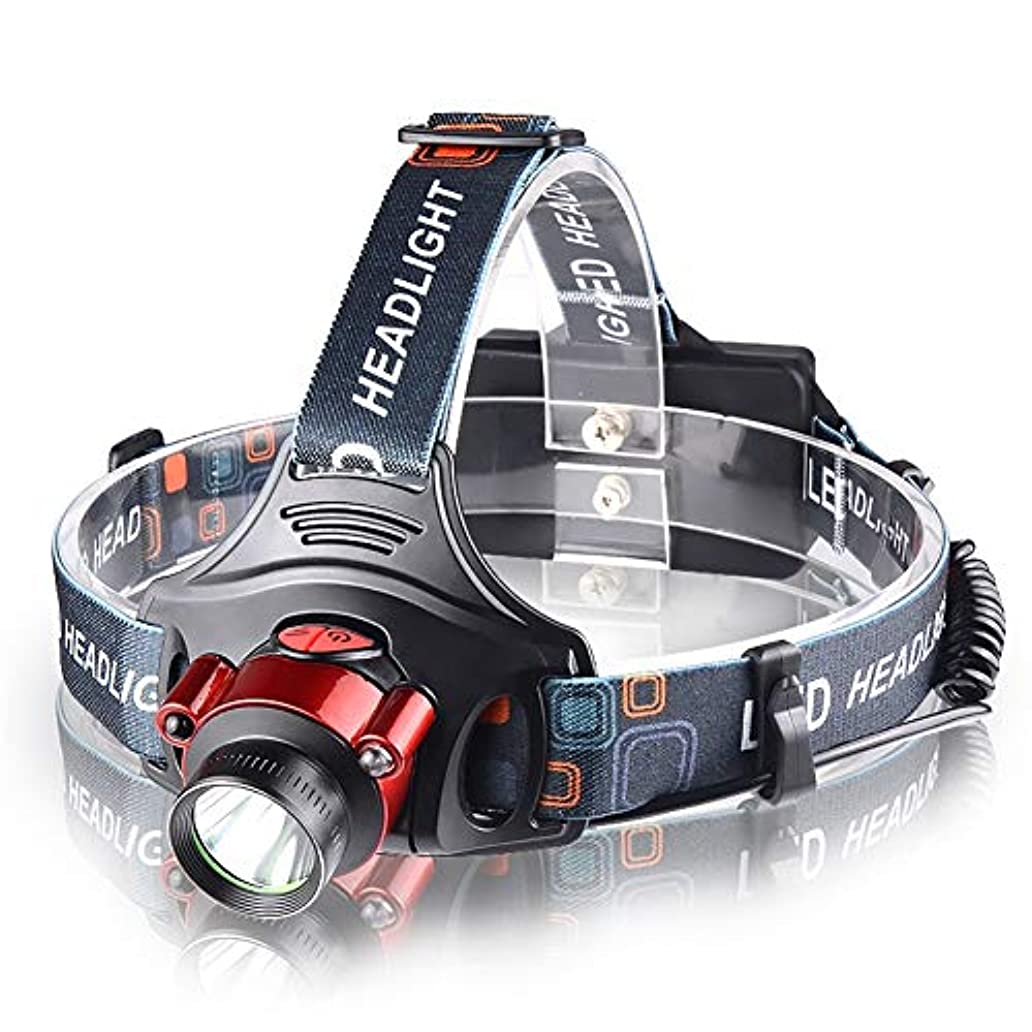 コーン感謝タバコヘッドライト,屋外登山多機能釣り防水スーパーブライトヘッドライト
