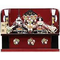 雛人形 親王収納飾り 有職束帯[幅62cm][it-1042] 雛祭り