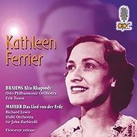 Ferrier: Alto Rhapsody by BRAHMS / MAHLER (2003-07-29)