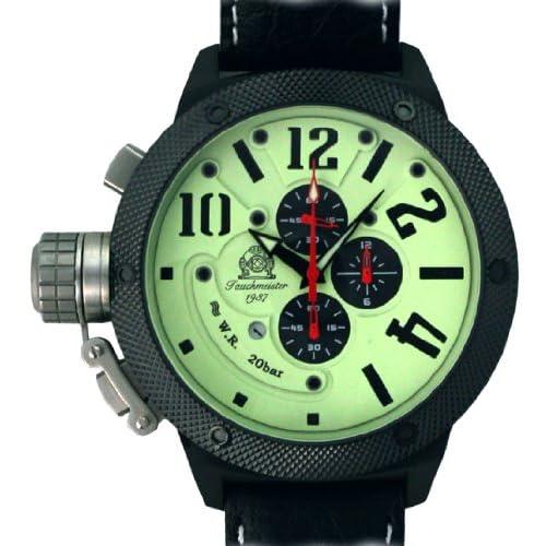 [トーチマイスター1937]Tauchmeister1937 腕時計 ドイツ製二戦ドイツ海軍U-BOOT潜艦軍用復刻重厚クロノグラフ T0260 (並行輸入品)