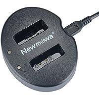 Newmowa NB-13L 対応 USB充電器 デュアルチャネル バッテリーチャージャー 互換急速充電器 Canon NB-13L Canon PowerShot G5X G7X G9X G7 X Mark II G9X Mark II SX620 HS SX720 HS SX730 HSなど対応