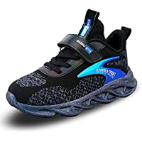WYSBAOSHU Kids Sneaker Boys Girls Running Shoes Breathable Lightweight Casual Athletic Shoes
