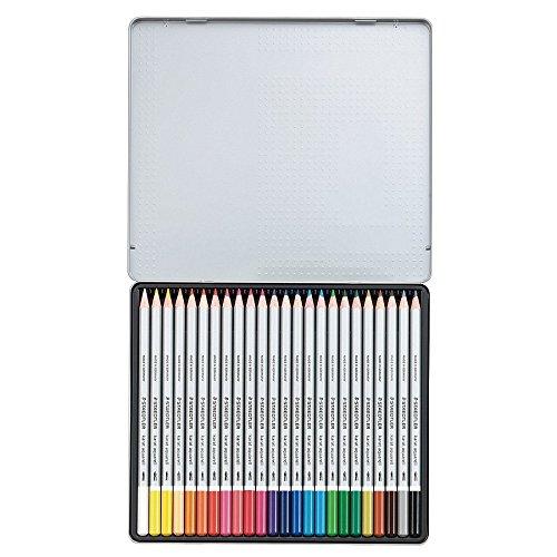 ステッドラー カラトアクェレル水彩色鉛筆 24色セット