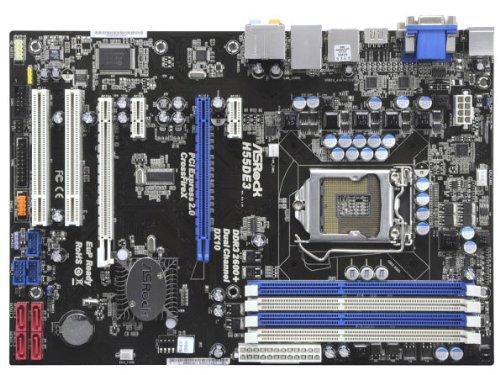 ASRock製 ATXマザーボード H55DE3 LGA1156