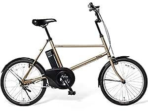 Panasonic(パナソニック) 2015年モデル ene mobile(エネモービル) カラー:ハーベストゴールド 20インチ BE-ENB01-T 電動アシスト自転車 専用充電器付
