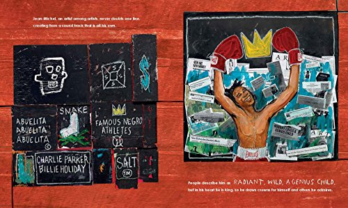Radiant Child: The Story of Young Artist Jean-Michel Basquiat (Americas Award for Children's and Young Adult Literature. Commended)