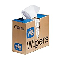 "New Pig PR40 All-Purpose Wipers,Medium-Duty Pop-Up Wipers,16"" x 9"",900 Wipes (12 Boxes of 75),WIP311 [並行輸入品]"