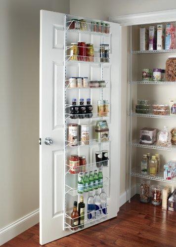 ClosetMaid 1233 Adjustable 8-Tier Wall and Door Rack, 18-Inch