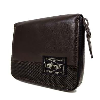 [ポーター] PORTER ズーム ZOOM 財布 二つ折り財布 107-04783(ブラウン)