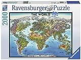 2000ピース ジグソーパズル  世界地図 World Map  (98 x 75 cm)