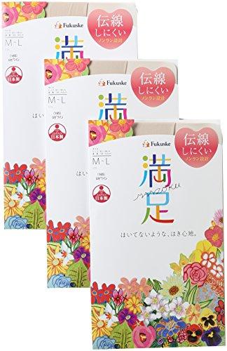 (マンゾク)Manzoku 【満足】 140-1601 3足組 パンティストッキング