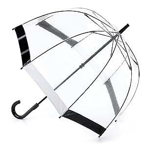 フルトン FULTON バードケージ かさ 傘 ブラック ホワイト 正規品証明タグ 英国王室御用達 黒 白 Black White Birdcage L041 AC
