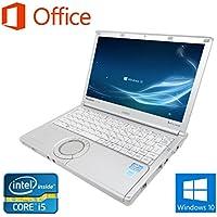 【Microsoft Office 2016搭載】【Win 10搭載】Panasonic CF-NX2/第三世代Core i5-3320M 2.6GHz/メモリ4GB/新品SSD:480GB/12.1インチ/無線搭載/HDMI/USB 3.0/中古ノートパソコン (新品SSD:480GB)