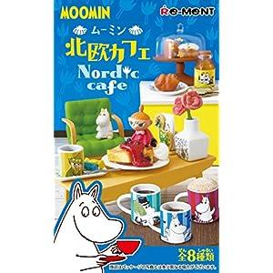 ムーミン 北欧カフェ BOX商品 1BOX=8個入り、全8種類