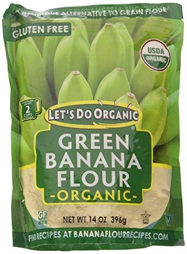 Let's Do Organic グリーンバナナ小麦粉、14オンス