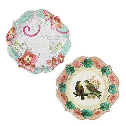 RoomClip商品情報 - Talking Tables(トーキングテーブル)紙皿/フラワー&鳥