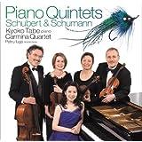SCHUBERT & SCHUMANN: PIANO QUINTET(SACD hybrid) by KYOKO TABE WITH CARMINA QUARTET (2008-04-23)