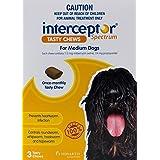 Interceptor for Medium Dog 3 Tasty Chews Pet Meds