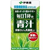 伊藤園 毎日1杯の青汁 無糖タイプ 紙パック 125ml X18