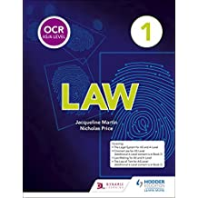 OCR AS/A Level Law Book 1