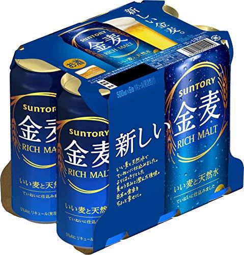 金麦 6缶パック 缶500ml×6
