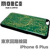 モエコ・moeco 東京回路線図 iPhone 6 Plus / 6s Plusケース 緑 TOKYO iphone6Plus CASE G
