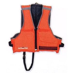 キャプテンスタッグ(CAPTAIN STAG) シーサイドフローティングベスト2子供用 レッド MC-2551