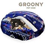 グルーニー Groony 2017ver ペットベッド 犬猫 洗える ボリューミー 冬用 静電気防止 ネイティブネイビー