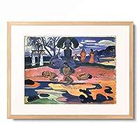 ポール・ゴーギャン Eugene Henri Paul Gauguin 「Mahana no atua」 額装アート作品